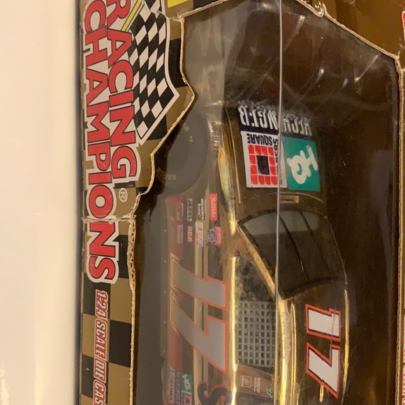 "Speed car replica , Nascar gold """